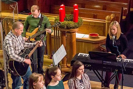 Music at Knock church