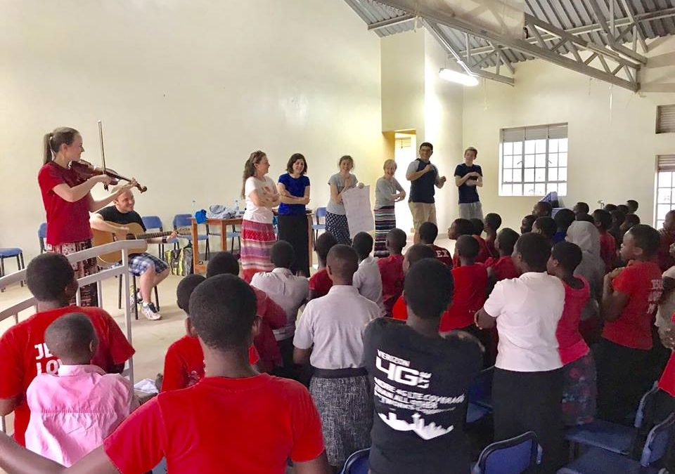 Report from the Uganda Youth Team on Friday